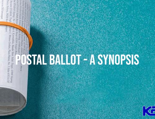 Postal Ballot-A Synopsis